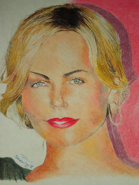 Charlize Theron by shawnx24